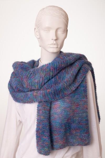 Schal farbenfroh