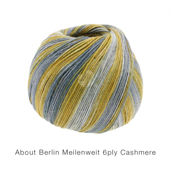 About Berlin Meilenweit 6-PLY Cashmere