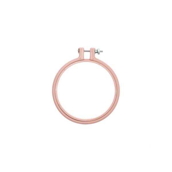 Stickrahmen - Kunststoff Rosa (101 mm)